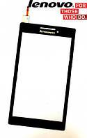 Сенсорный экран (touchscreen) для Lenovo IdeaTab A7-10F, черный, оригинал