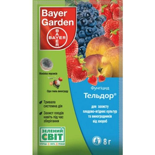 Фунгицид системный Тельдор, 8 г (Просрочен) — против заболеваний на плодово-ягодных культурах