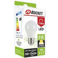 LED лампочка Корея тёплый свет А50 8W цоколь Е27 LE4003849