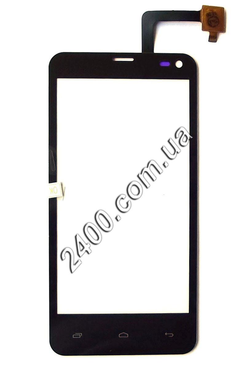 Сенсор для телефона Fly IQ4416 тачскрин черный