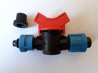 SL-004.5 Кран стартовый с поджимом и резинкой (500/50шт) для ленты