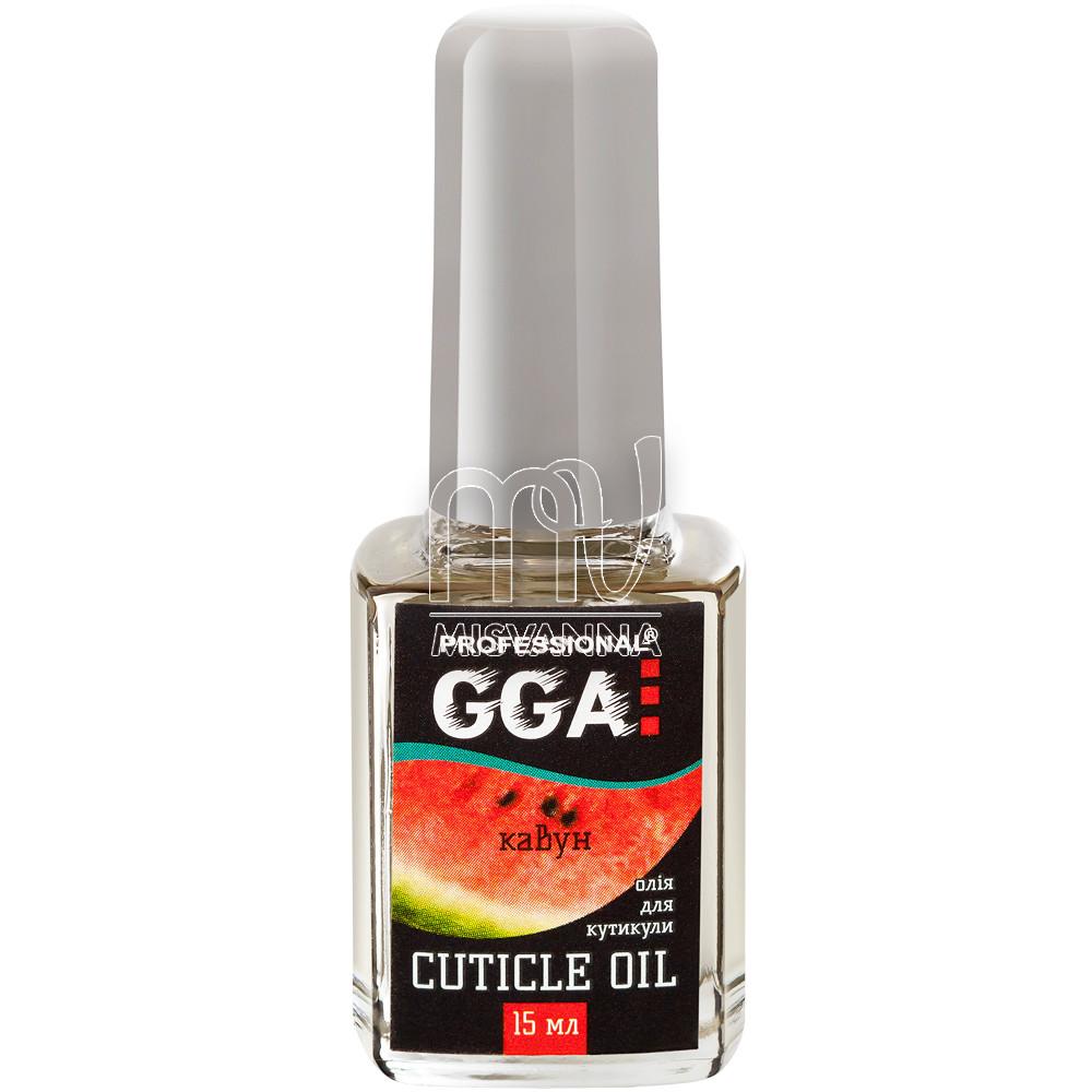 Масло для кутикулы GGA Professional 15 мл арбуз