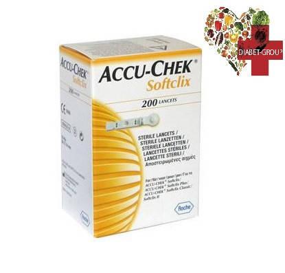 Ланцеты Акку Чек Софткликс (Accu-Chek Softclix)200 штук, фото 2