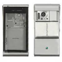 Корпус Sony Ericsson U1i Satio-Idou. серебристый