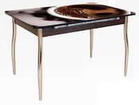 Кухонный стол-16 раздвижной с фотопечатью