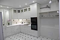 """Кухня """"Ирен"""" с МДФ фасадами крашенными."""
