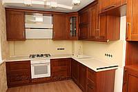 """Кухня """"Прайм"""" с фасадами из массива Ясеня"""