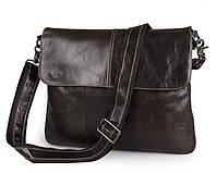 Сумка-мессенджер Tiding Bag 7299J серо-коричневая