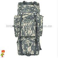 Тактический рюкзак 70 л с железной дугой ACU, фото 1