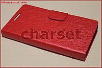 Чехол книжка Samsung Galaxy S2 i9100 красный