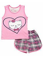 Летняя пижама для девочки р.128-134
