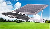 Фонарь уличный светодиодный с солнечной батареей 30W