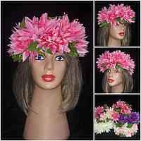 """Красивый веночек из цветов """"Лилии"""", 235/195 (цена за 1 шт. + 40 гр.)"""