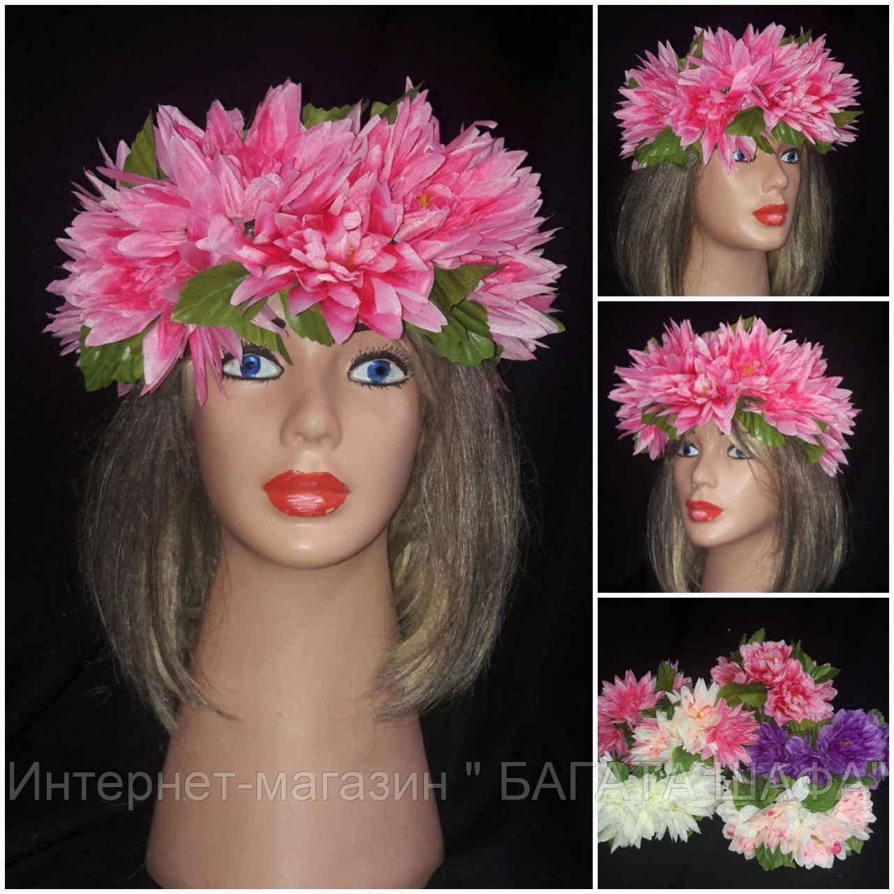"""Красивый веночек из цветов """"Лилии"""", 235/195 (цена за 1 шт. + 40 гр.), фото 1"""