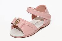 Детские босоножки для девочек Apawwa M21 Pink (20-25)