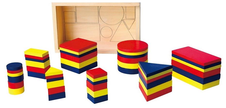 Набор для обучения Логические блоки Viga toys (56164U)