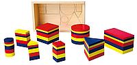 Набор для обучения Логические блоки Viga toys (56164)