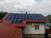 Сонячна мережева електростанція, потужністю 10 кВт, м. Стрий