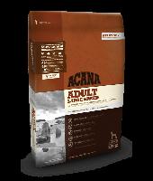 Acana ADULT LARGE BREED - корм для собак крупных пород Heritage Formula 60/40/0 17кг