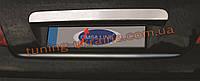 Накладка над номером Omsa на Peugeot 207 2006-2012