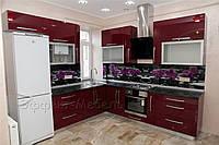 "Кухня ""Орхидея"" с фасадами МДФ глянец"