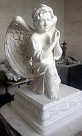 Скульптура из полимер Плачущий ангел 1 метр, фото 1