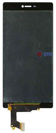 LCD модуль Huawei P8 (GRA-L09) черный, фото 2