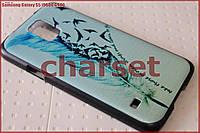 Бампер чехол на Samsung Galaxy S5 i9600 G900 пластик bp#38