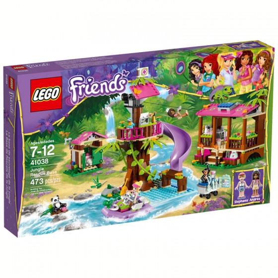 LEGO Friends Спасательная база в джунглях 41038