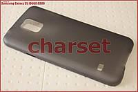Бампер чехол на Samsung Galaxy S5 i9600 G900 пластик bph черный