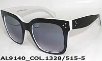 Модные женские солнцезащитные очки AL9140_1328-515-5