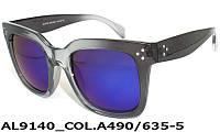 Модные женские солнцезащитные очки AL9140_A490-635-5