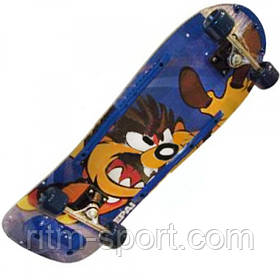 Скейтборд в зборі (роликова дошка)
