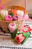 Цветы тюльпаны,  мыло ручной работы