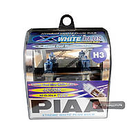 Автолампы PIAA Xtreme Cool Blue White Light H3, ☀ 4000K, комплект 2 шт.