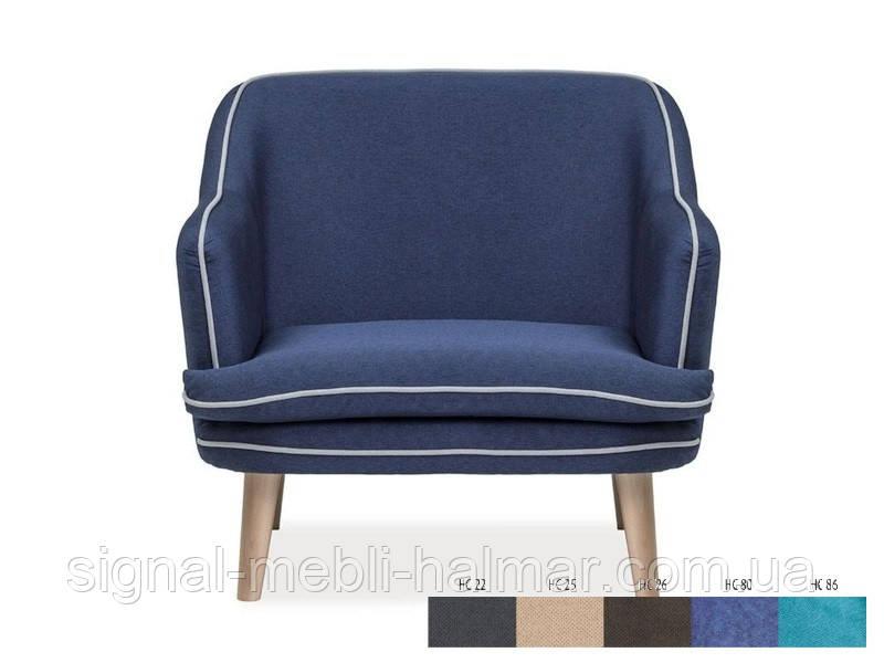 Кресло Paris 1 signal (темно серый)