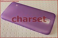 Бампер чехол на Samsung Galaxy S5 i9600 G900 пластик bph сиреневый