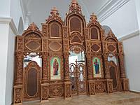 Иконостас деревянный,резной,Барокко, фото 1