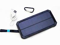 Внешний аккумулятор Power bank Solar UKC 32800 mAh на солнечной батарее