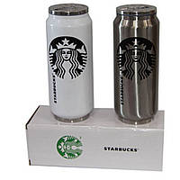 Термос бутылка Нержавеющая сталь Starbucks H-184 500 мл