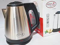 Дисковый электро чайник Domotec 1850W, фото 1