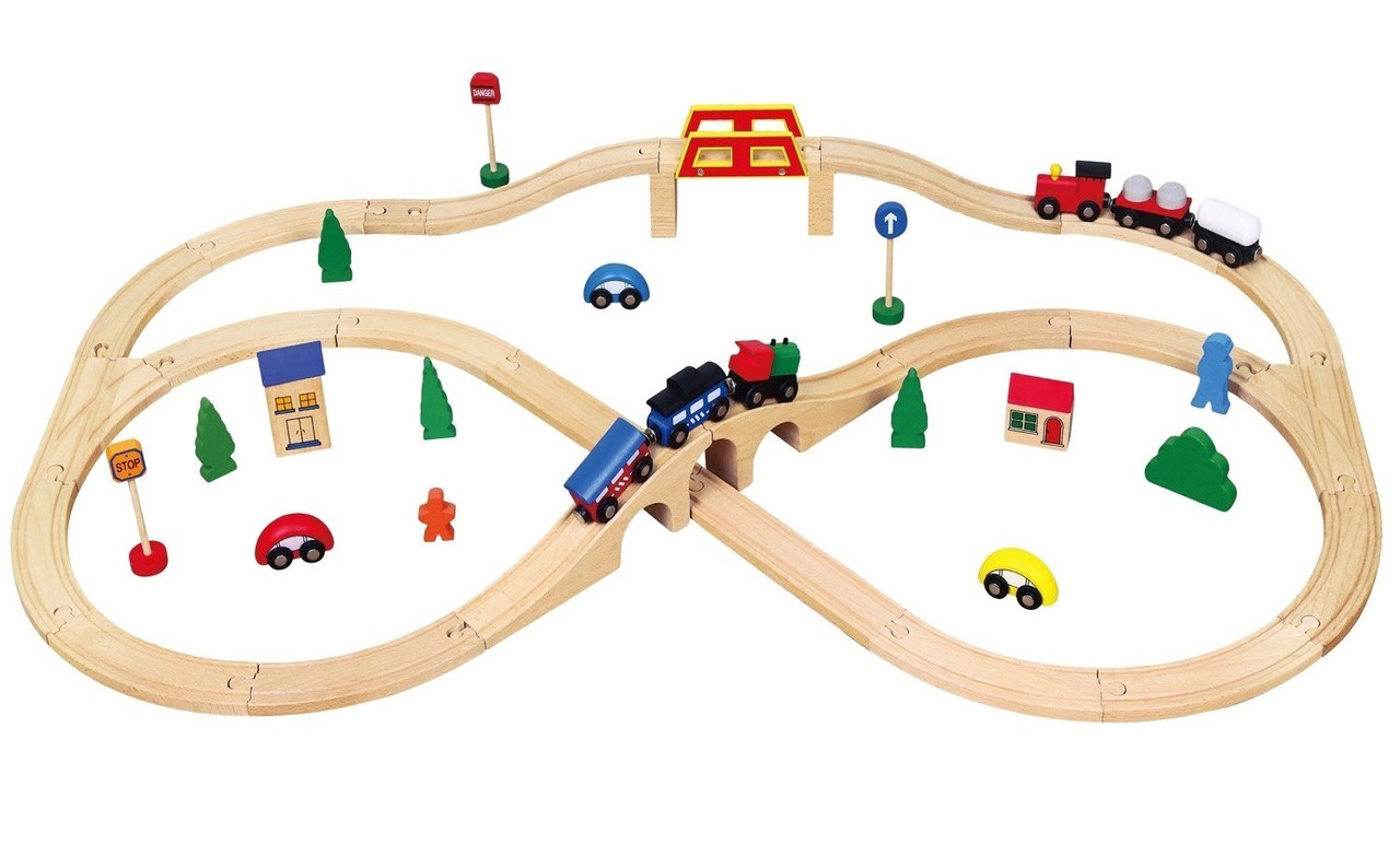 Железная дорога Viga toys (56304)
