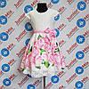Гипюровое  нарядное детское платье на девочку  DEVA