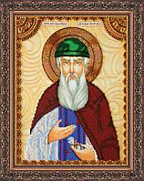 Набор для вышивки бисером именной иконы  «Святой Вадим»