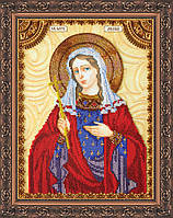 Набор для вышивки бисером именной иконы  «Святая Лидия»