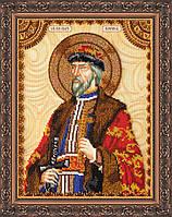 Набор для вышивки бисером именной иконы  «Святой Борис»