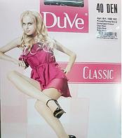 Женские колготки капроновые с шортиками DuVe 102 Classic Den 40