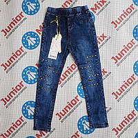 Оптом подростковые джинсовые  брюки в обтяжку для девочек SEAGULL