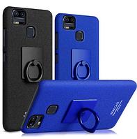 Пластиковый чехол Imak с кольцом-подставкой для Asus Zenfone 3 Zoom ZE553KL  (2 цвета)