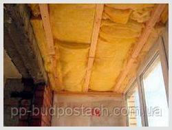 Утепления балкона минватой и пенопластом